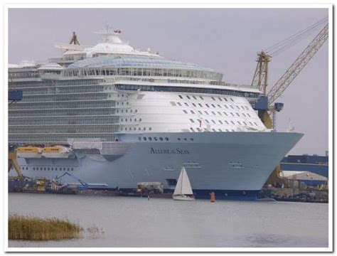 largest cruise ship being built biggest cruise ship ever built gallery ebaum s world
