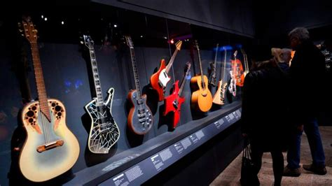 play  loud exhibit  metropolitan museum  art showcases vintage rock instruments