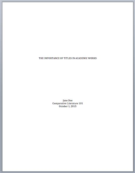 Chicago Style Cover Letter by Chicago Style Essay Title Page 5 Title Page Chicago Style A Cover Letters Ayucar