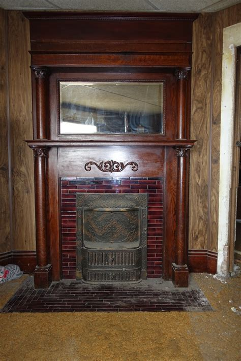 removing fireplace surround removing a fireplace mantel and tile surround architectural observer