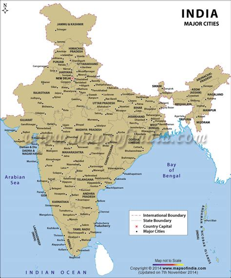 show map of with cities india map with cities