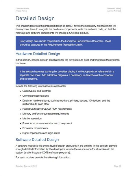 detailed design document template doc system design document apply iwork pages numbers