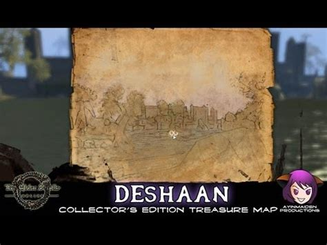 deshaan ce treasure map deshaan ce treasure map elder scrolls wiki