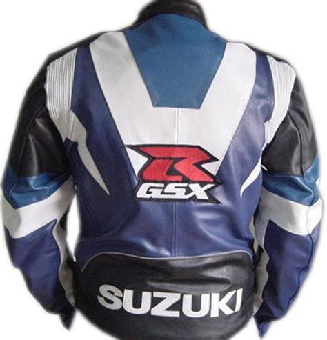 Motorrad Lederjacke Eng by Suzuki Gsxr Marke Motorrad Lederjacke