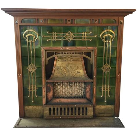1920s Fireplace by Breathtaking Deco Fireplace Circa 1920s For Sale At 1stdibs