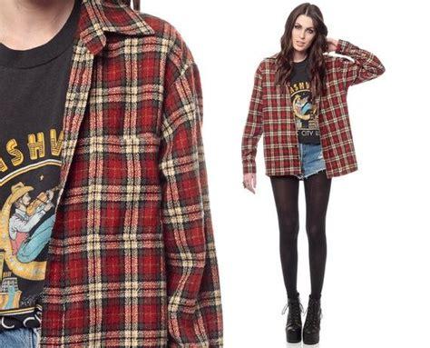 Trend Alert Lumberjack Grunge by 90s Grunge Fashion 90s Plaid Shirt Grunge Fashion