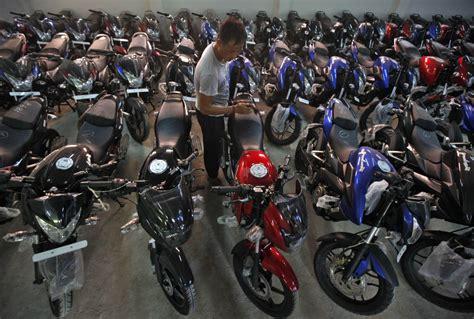 Two Wheeler Motorcycle by Bajaj Auto Royal Enfield Motorcycle Sales Rise In April