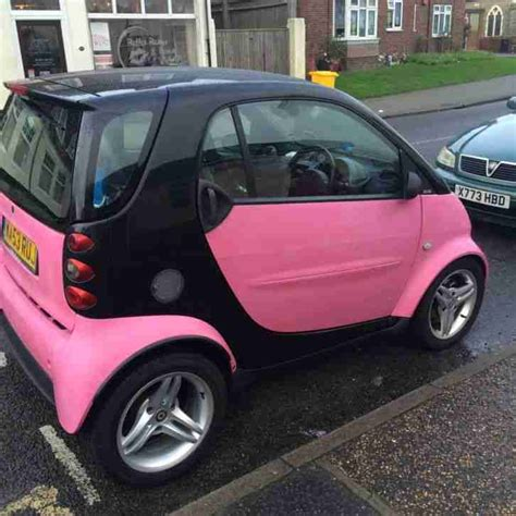 mileage for smart car smart pink fortwo low mileage car for sale