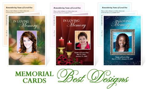 memorial cards templates new showroom one stop funeral memorial superstore creates