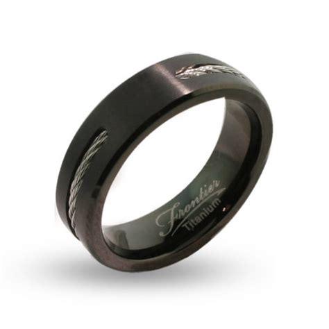 black titanium wedding bands for fashion belief
