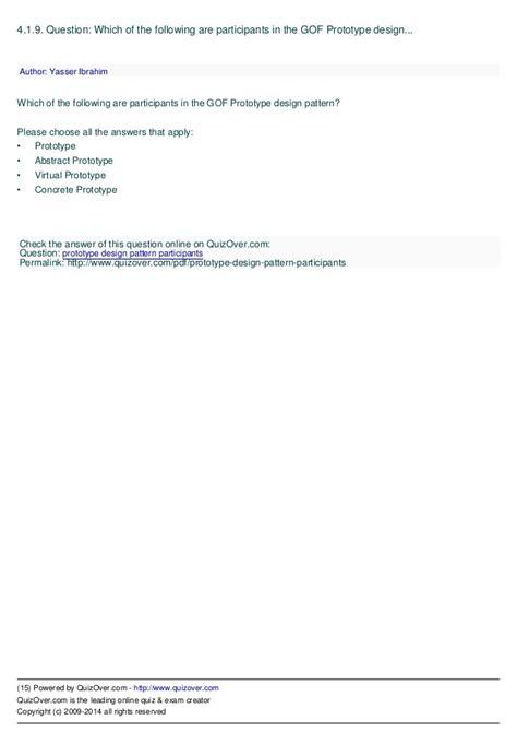 java 8 virtual field pattern gang of four java design patterns mock exam
