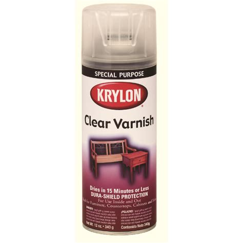 spray paint lowes shop krylon 12 oz clear satin spray paint at lowes
