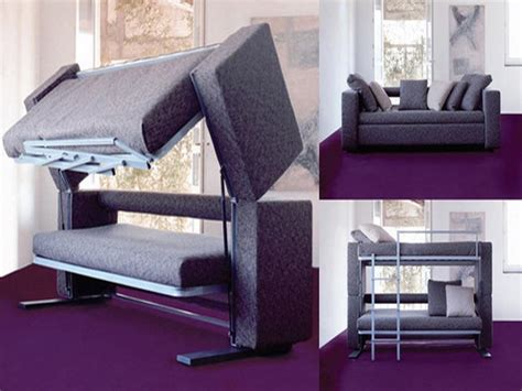 Sofa Converts To Bunk Bed Artistic Value Of The Convertible Sofa Bunk Bed Design Stroovi