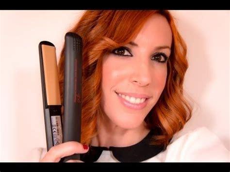 Peinados Con Planchas Ghd Youtube