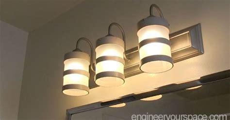 bathroom chrome light fixture diy diy bathroom lighting fixture makeover hometalk