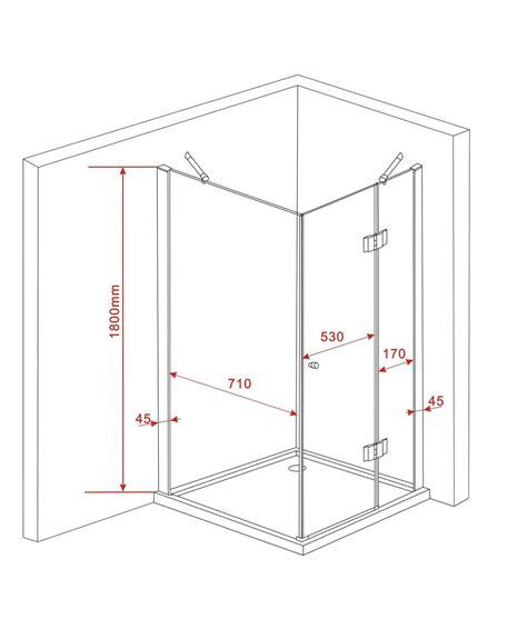 cabine de sill 80 x 80 x 180 cm sans bac paroi