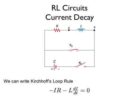 current decay in an inductor current decay in inductor 28 images physics electricity and magnetism lecture 12 inductance