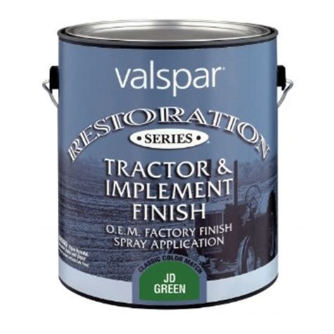 valspar 27 0003340 05 jd green restoration 27 3340 quart implement paint power tools