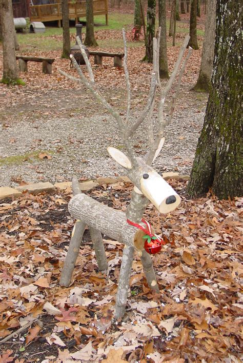 reindeers made from logs search results calendar 2015