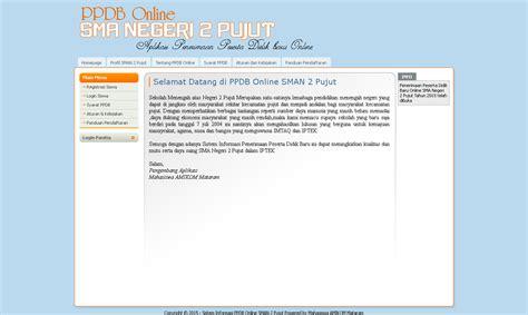 Source Code Aplikasi Kartu Rencana Studi source code aplikasi sistem informasi penerimaan peserta didik baru ppdb studi kasus