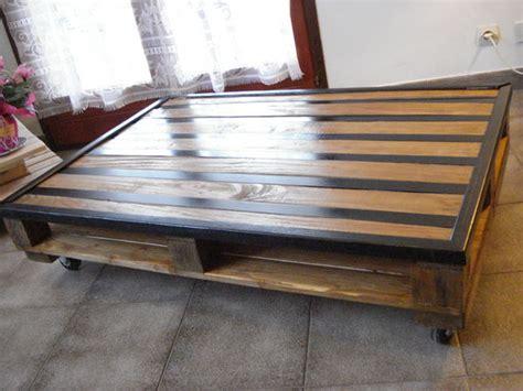 Table De Salon En Palette Bois