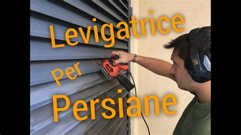 levigatrice persiane gimar levigatrice orbitale per persiane black and decker ka401