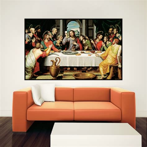 last supper wall mural last supper wall mural home design