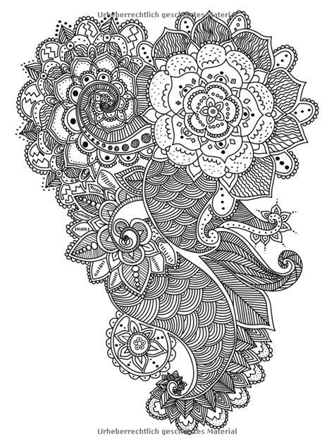 Vogelschwarm im Blütenmeer Ausmalbuch für Erwachsene : 85