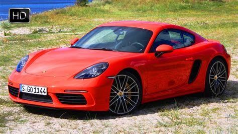 porsche cayman orange 2017 porsche 718 cayman s lava orange design