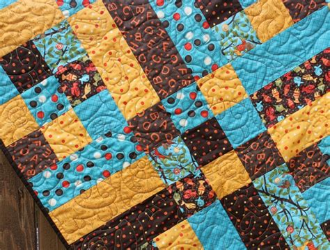Animal Print Quilt by Animal Print Baby Boy Quilt
