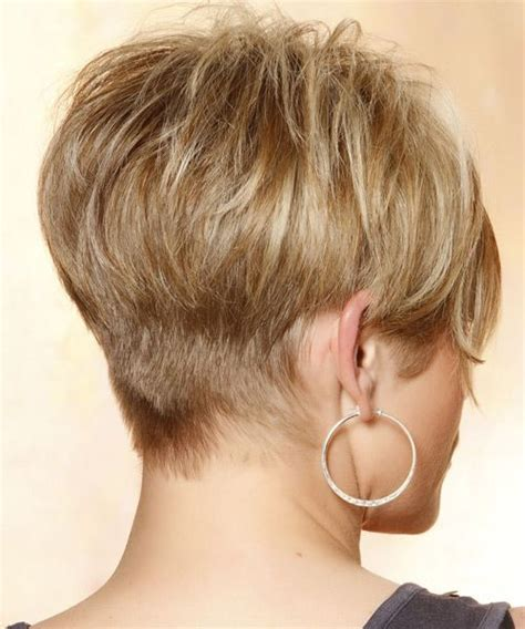 layering hair versus tapering hair short bob hairstyles back view casual short straight