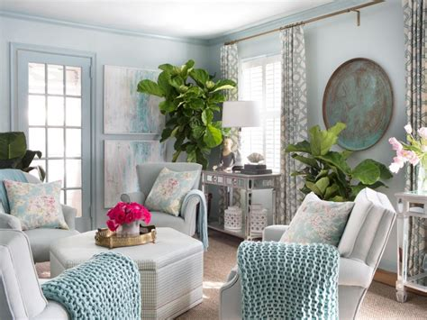 how to decorate small homes small living room ideas hgtv