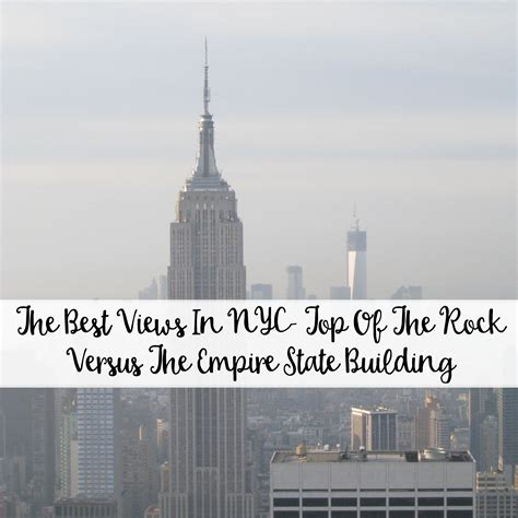 best empire building the best views in nyc top of the rock versus the empire