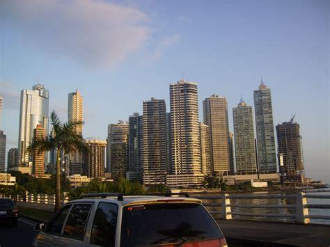 panama citys skyline futuristic architecture