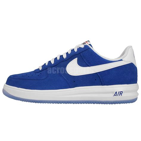Sepatu Nike Airforce One For White Casual nike lunar 1 14 suede blue white 2015 mens casual shoes air af1 sneakers ebay