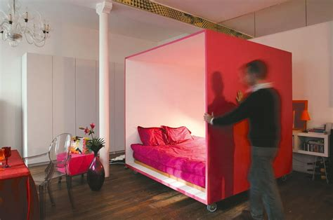 Bed For Studio Apartment by 187 Mobile Bed Cube For A Studio Apartment 1 At In Seven
