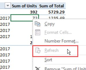 how do you refresh a pivot table refresh an excel pivot table on a protected sheet excel