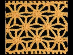 punto estrella crochet crochet punto flor puff rectangular doovi