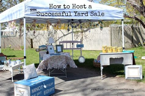 Garage Saling Tips by 1000 Ideas About Rummage Sale On Yard Sale