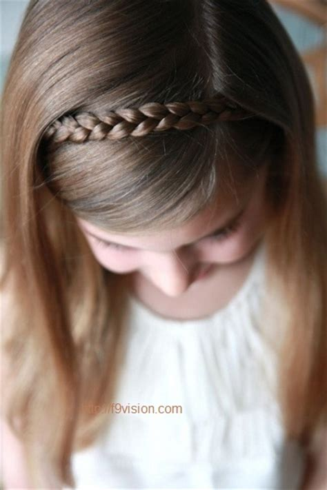 simple easy hairstyles for little girls 6