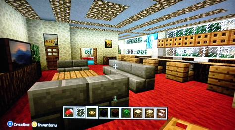 Living Room Minecraft Xbox 360 How To Make A Living Room In Minecraft Xbox Excited