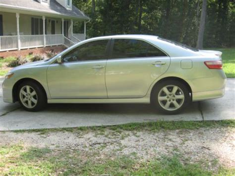 Toyota Camry 4 Cylinder Find Used 2007 Toyota Camry Se 4 Cylinder 5 Speed