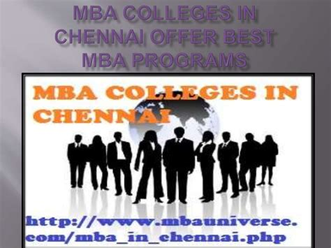 Colleges Offering Mba In It by Mba Colleges In Chennai Offer Best Mba Programs