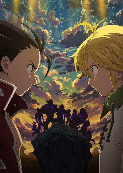 Anime 7 Deadly Sins Season 3 by The Seven Deadly Sins Season 2 Revival Of The