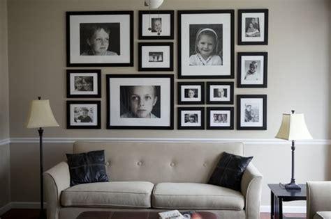 Bilder An Der Wand by Bringen Sie Ihre Familienfotos An Die Wand 29 Originelle