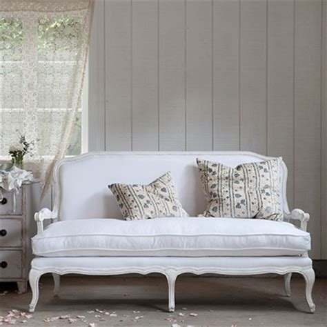 white settee lila settee white linen traditional loveseats by