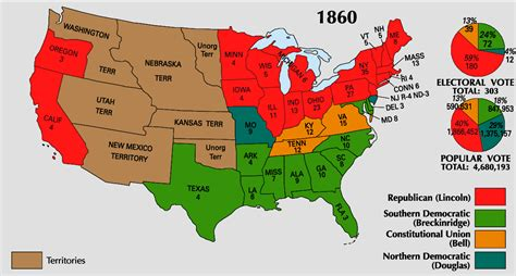 united states map of 1860 maps united states map of 1860