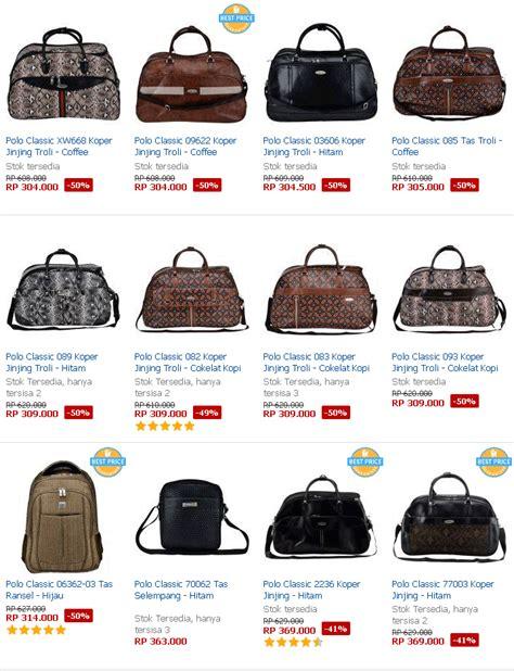 Harga Tas Merk Polo Classic daftar harga tas daftar harga tas branded original