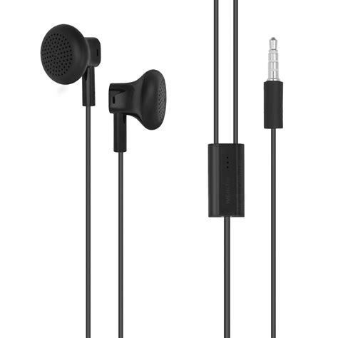 Headphone Nokia oem nokia lumia wh 108 3 5mm stereo headset wired earphones w mic black new ebay