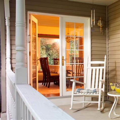swinging patio door doors